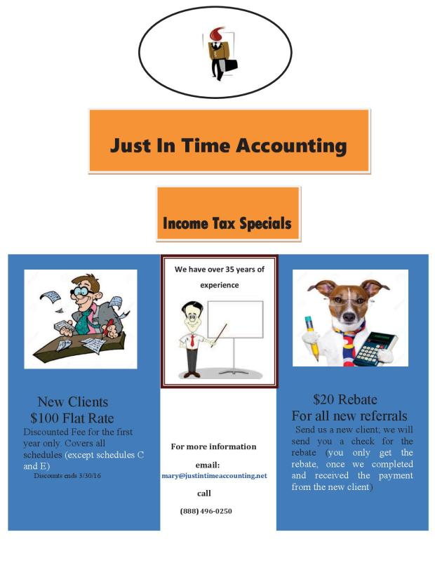 Income Tax Flyer_2016